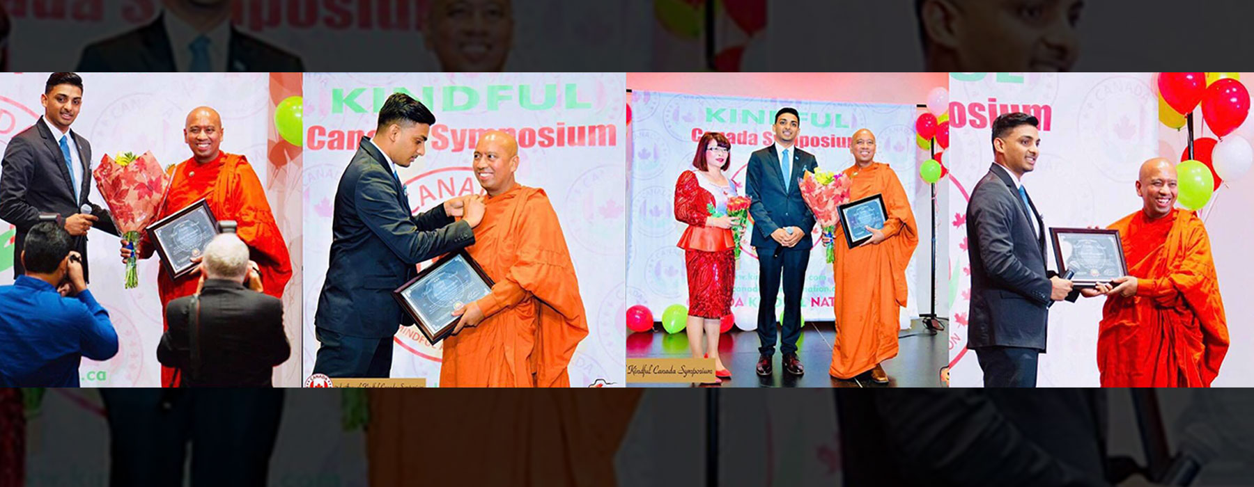 Bhante Saranapala, the founder & president of Canada: A Mindful and Kind Nation, has been honoured and appointed as the UN Civility Ambassador by the iChange Nation